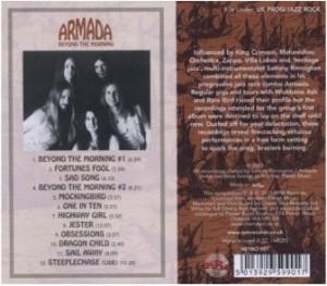 "Armada - ""Beyond the Morning"" (1972-1974) - tył okładki"