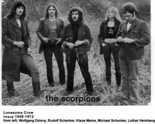Scorpions 1968 - 1972