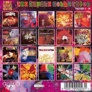 The Rubble Collection volumes 1-20 - tył okładki