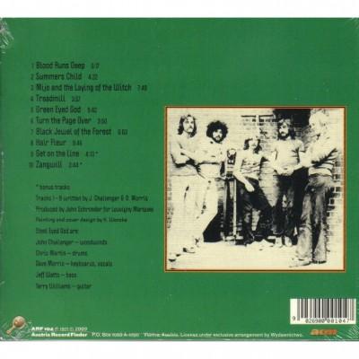 "STEEL MILL ""Green Eyed God"" (1971) tył okładki"