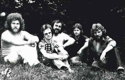 Pierwszy skład zespołu MESSAGE z roku 1971