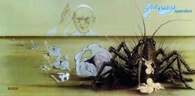 "BIRTH CONTROL ""Operation"" (1971). Cała okładka."