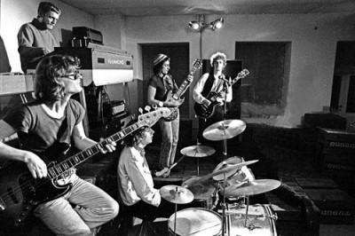 Grupa Pan podczas próby (1970)