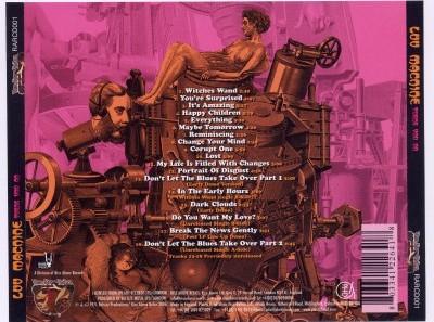 "LUV MACHINE ""Turns You On"" (tył okładki CD)"