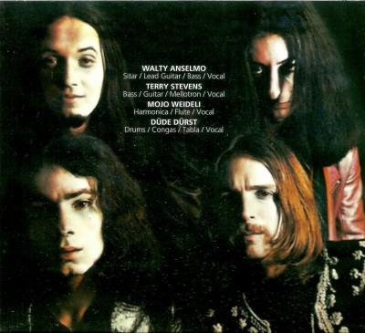 Tył okładki oryginalnego LP