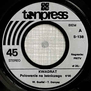 """Singiel """"Polowanie na leśniczego"""" (Tonpress 1979)"""