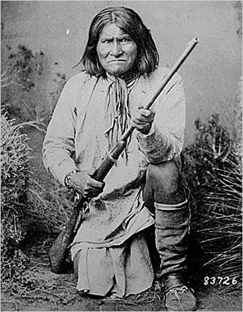 Geronimo. Lata 80-te XIX wieku.