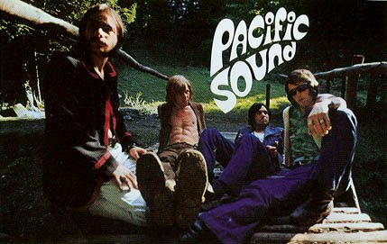 Pacific Soun. Od lewej: Roger Page, Diego Lecci, Mark Treuthardt, Chris Meyer.
