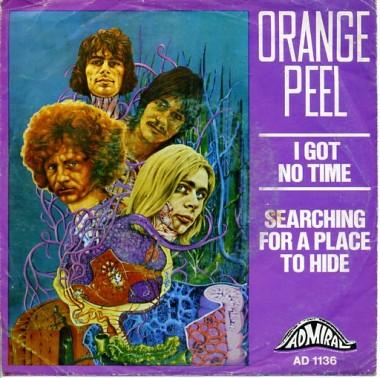 """Singiel """"I Got No Time"""" (Admiral Rec. 1969)"""