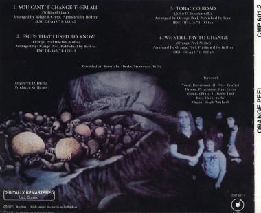 Pierwsza reedycja na CD firmy CMP (2003)