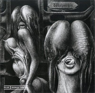 """Okładka płyty """"Walpurgis"""" zaprojektowana przez H.R. Gigera"""