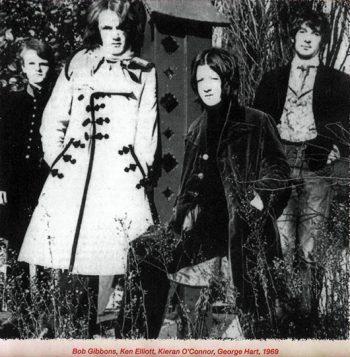 SECOND HAND z nowym basistą Georgem Hartem (1969)