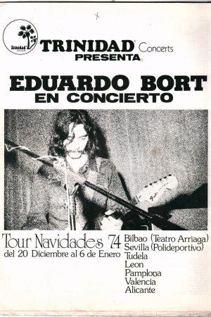 Plakat zapowiadający koncert Borta