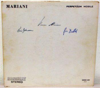 Oryginalne wydanie płyty z autografami muzyków