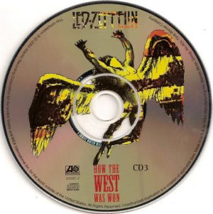 "Jedna z trzech płyt CD albumu ""How The West Was Won"""