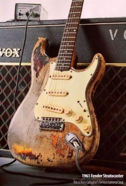 Ukochany Fender z 1961 roku